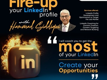 Offering with online payment: LinkedIn Coaching for Job Search