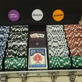 Renting out with online payment: Deluxe poker chip set