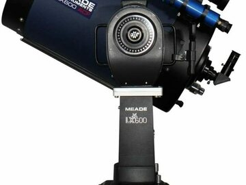 """For sale (with online payment): 16"""" LX600 ACF Telescope Meade w/ accessories"""