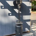 Renting out with online payment:  outdoor gas heater