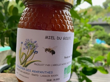 Les miels : Miel bio d'abeilles noires