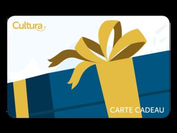 Vente: e-Carte cadeau Cultura (50€)