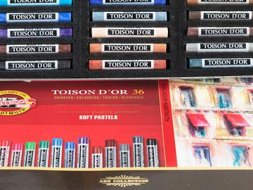 Myydään tavaraa tai tarvikkeita: Pastelliliidut 36 kpl rasia
