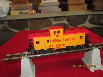 Selling with online payment: Bachmann HO Scale Union Pacific Caboose Item R32