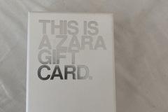 Vente: Carte cadeau Zara (20€)