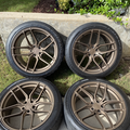 Selling: Bronze Stance SF03 5x115 with Firestone Firehawk Indy 500