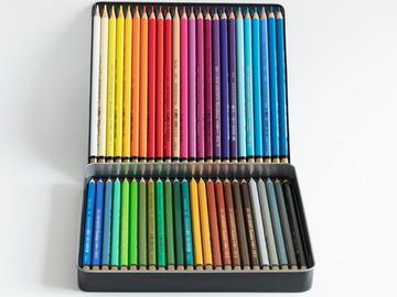 Myydään tavaraa tai tarvikkeita: Akvarellikynät 48 kpl