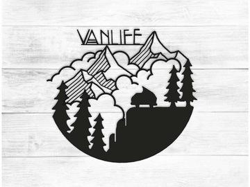 Vente au détail: Décoration murale Vanlife