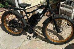 For Sale: 60V 2000W 26x4 fat bike hardtail