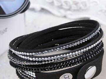 Sale retail: Bracelet Fantaisie 2 tours N°02
