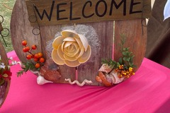 Selling with online payment: Beachy Welcome Pumpkins