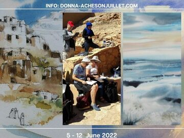 Apprendre: Carnet de Voyage au Maroc - Travel/Painting Holiday in Morocco