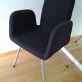 Selling: PATRIK Visitor chair Ultuna dark gray