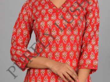 Services: Elegant and Comfortable Cotton Kurtis - Complete Your Look