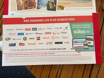Vente: Chèques vacances (600€)