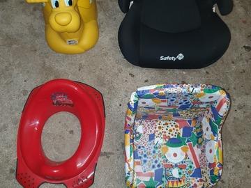 Biete Hilfe: Kindersitze und Töpfchen