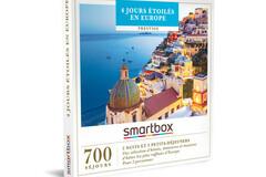 """Vente: Coffret Smartbox """"4 jours étoilés en Europe"""" (449,90€)"""