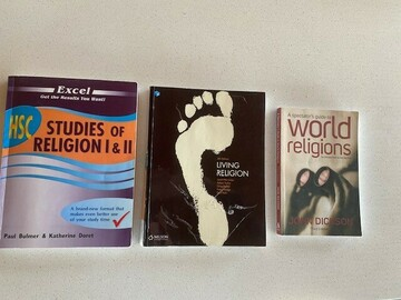 Selling: Studies of Religion I and 2 Textbooks (Year 11/12)