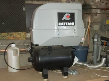 Gebruikte apparatuur: Cattani 1 cylinder compressor