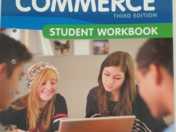 Selling: New Concepts in Commerce 3rd Edition STUDENT WORKBOOK