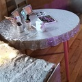 Ilmoitus: upea glitter pöytäliina