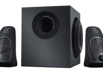 Selling: Logitech Stereo Speaker + Subwoofer (almost new)