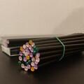 Ilmoitus: Tyylikkäitä mustia lyijykyniä 60 kpl