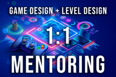 1 on 1 Mentoring: Mr. Game Design! (Released titles and +8 years exp)