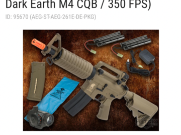 Selling: Airsoft bundle first corn first served from rva