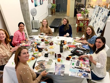 per session: Art Spa World, Diving For Pearls, Reclaim Your Creative Brain!