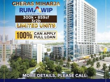 For sale: Rumah Wip Miharja Rm300k 3r 2b @ Near Cheras Maluri