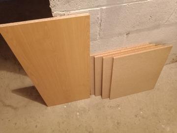 Selling: Lot de 5 planches pour étagères