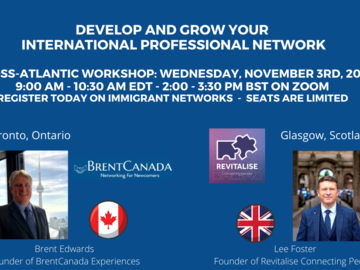 Offering with online payment: Develop and Grow your International Professional Network