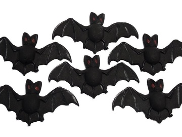 Delivery: Edible Bats Halloween Trick or Treat Cupcake Toppers