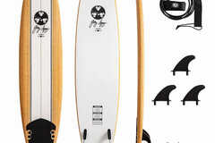 For Rent: 8ft Gerry Lopez Soft top surfboard