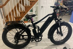 For Sale: 48v 750w BEECOOLBIKES black