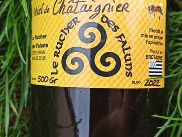 Les miels : Miel de Châtaignier - 500 Gr