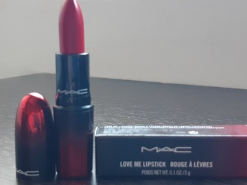 "Venta: MAC Love Me Lipstick Tono ""Give Me Fever"""