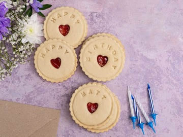 Delivery: Personalised Birthday Biscuits