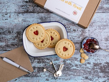 Delivery: New Home biscuits