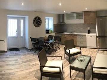 Location par mois: Maison F3 - Cherbourg (65m²)