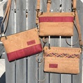 Selling with online payment: Breast Cancer Awareness - Cork Crossbody/Wristlet