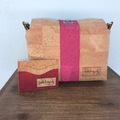 Selling with online payment: Breast Cancer Awareness - Cork Flip Top Purse