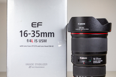 For Rent: Canon EF 16-35mm f/4L Lens