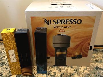 Selling: (new) nespresso vertuo next coffee machine