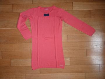 Selling: Robe corail Le Petit Marcel 10 ans TBE