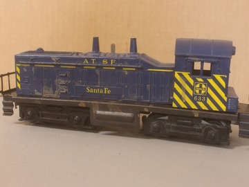 Selling with online payment: LIONEL 633, NEEDS WORK AS IS OK ENGINE Lot TK-6