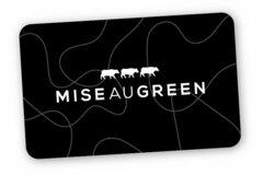 Vente: Bon cadeau MISE AU GREEN (100€)