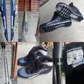 Selling: Karhu cross country skis + boots size 45 + sticks 155cm