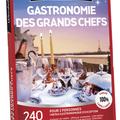 Vente: Coffret Wonderbox «Gastronomie des grands Chefs» (149,90€)